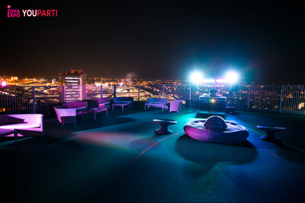 Rooftop Hotel Private Party Opening Expoint