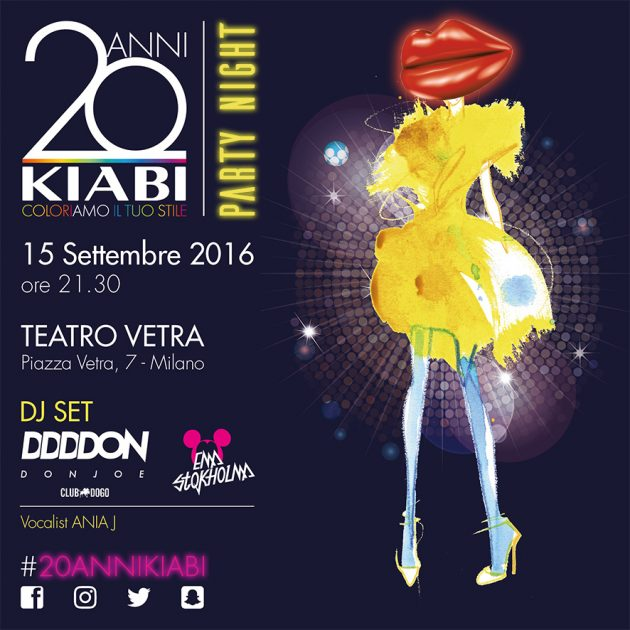 20 ANNI KIABI - Party Night Special Edition