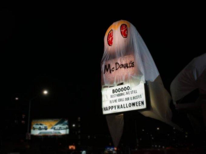 Burger King si traveste per spaventare e diventa McDonald's youparti news