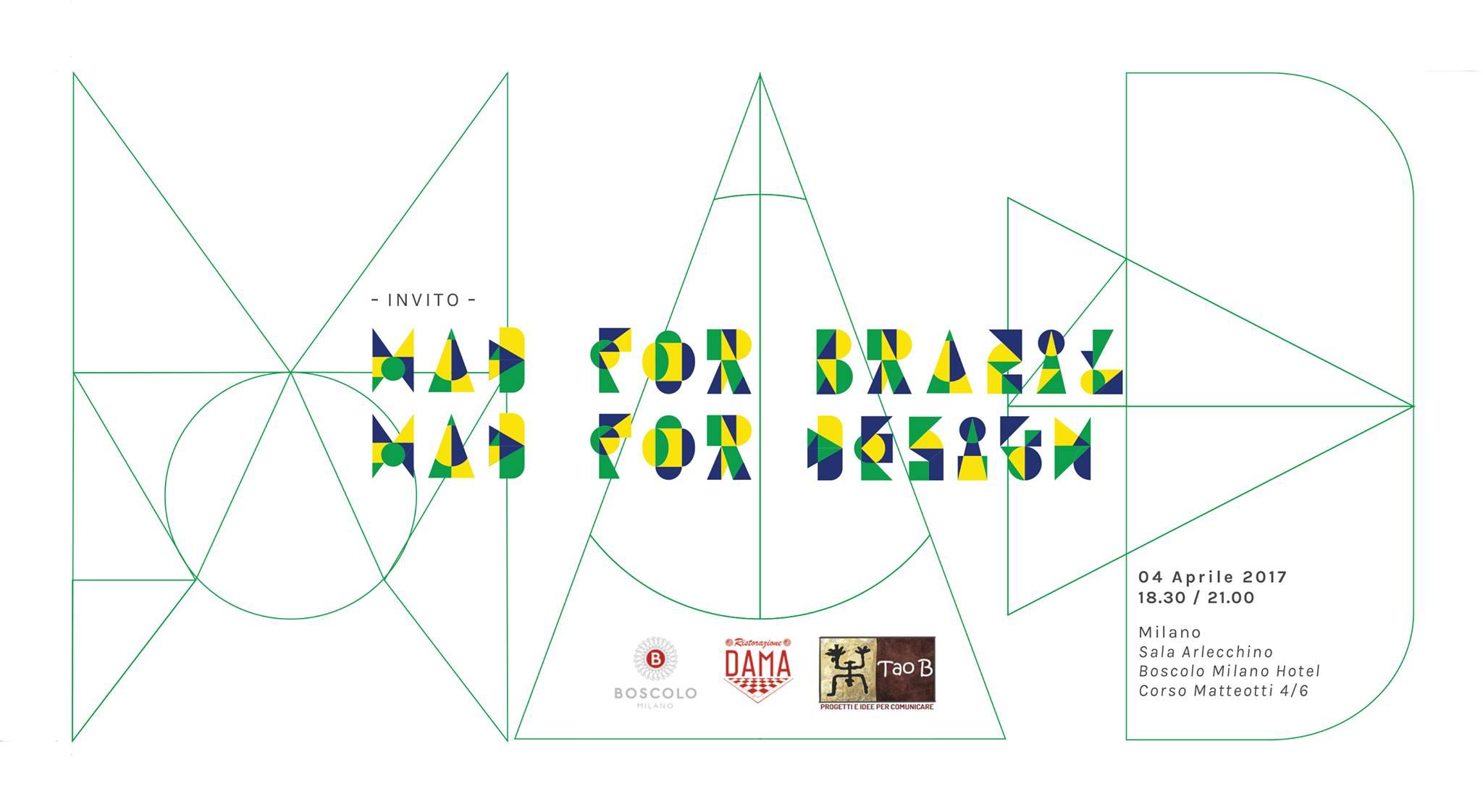 MDW17 / Mad For Brazil? + Boscolo Hotel 5* youparti