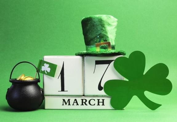 st patrick day milano verde 17 marzo