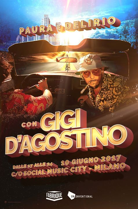 Gigi D'Agostino at Social Music City 2017 Milano EVENTO YOUPARTI PARTY