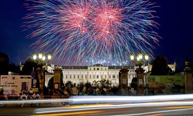 Fuochi d'artificio Villa reale di Monza festa party villa reale youparti eventi