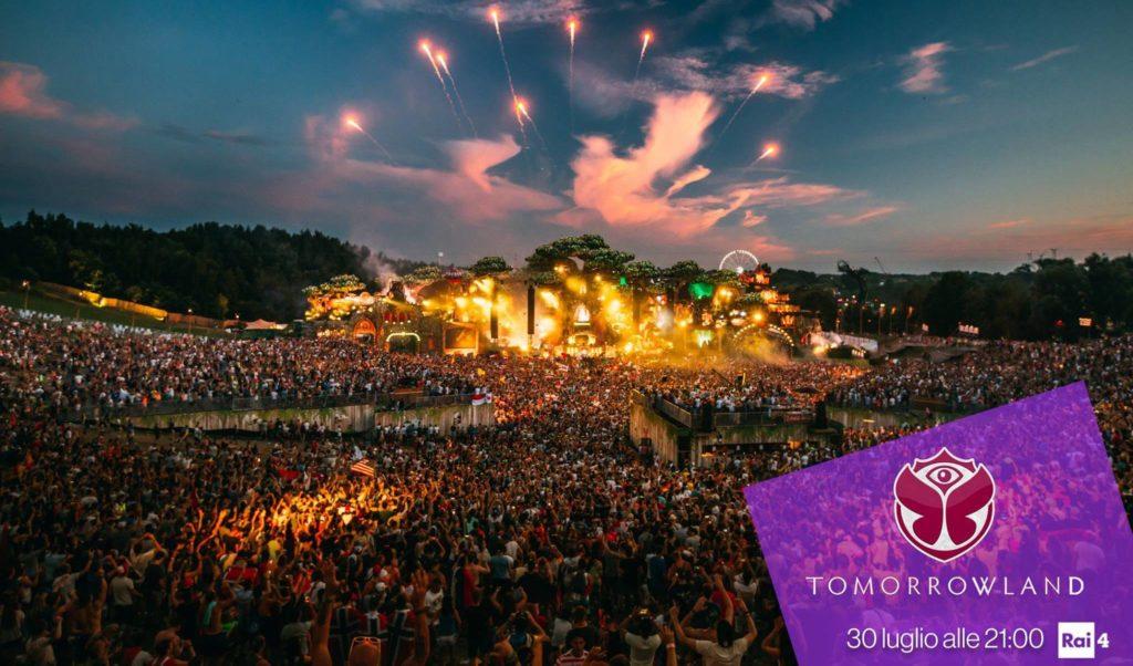 Tomorrowland 2017: La Rai lo trasmetterà in diretta