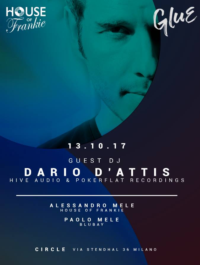 GLUE / Dario D'attis + House of Frankie | YOUparti