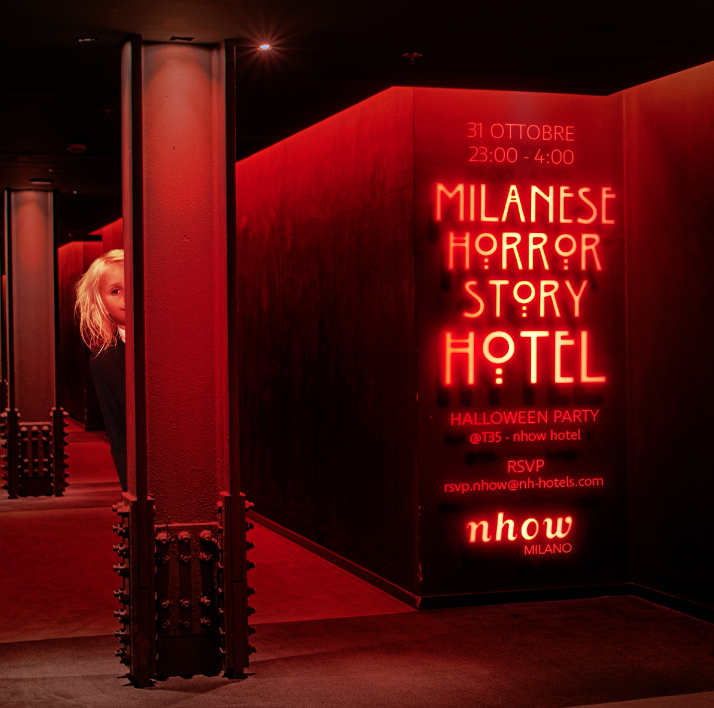 Halloween party milanese horror story hotel youparti for Club esclusivi milano