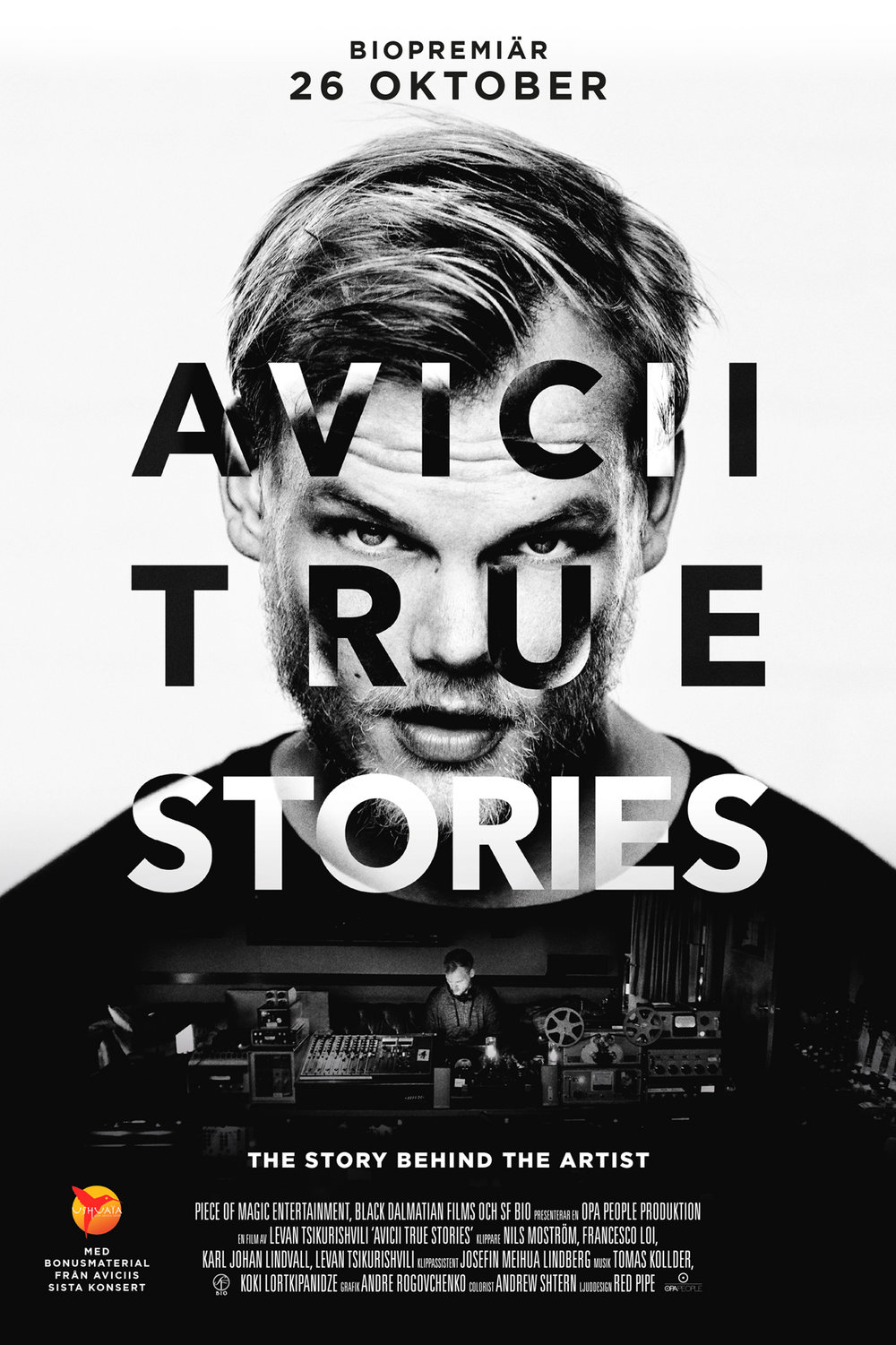 Avicii film true stories