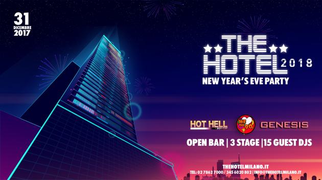 THE HOTEL 2018 | YOUparti capodanno milano hotel open bar evento speciale unico party