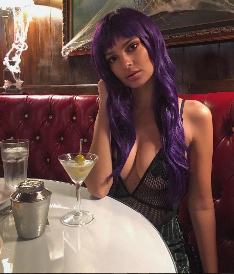 Emily Ratajkowski Halloween vip