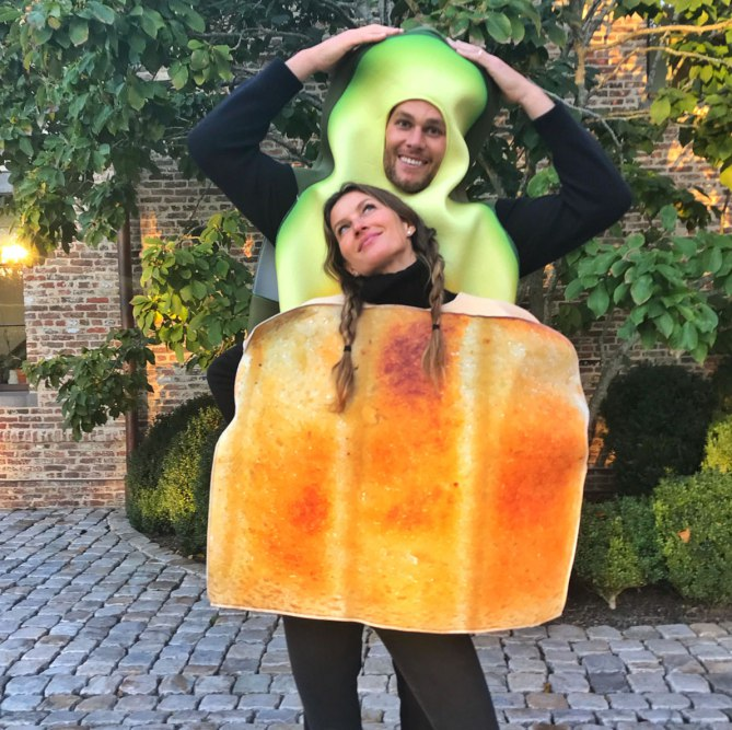 Giselle Bundchen e Tom Brady Halloween Vip