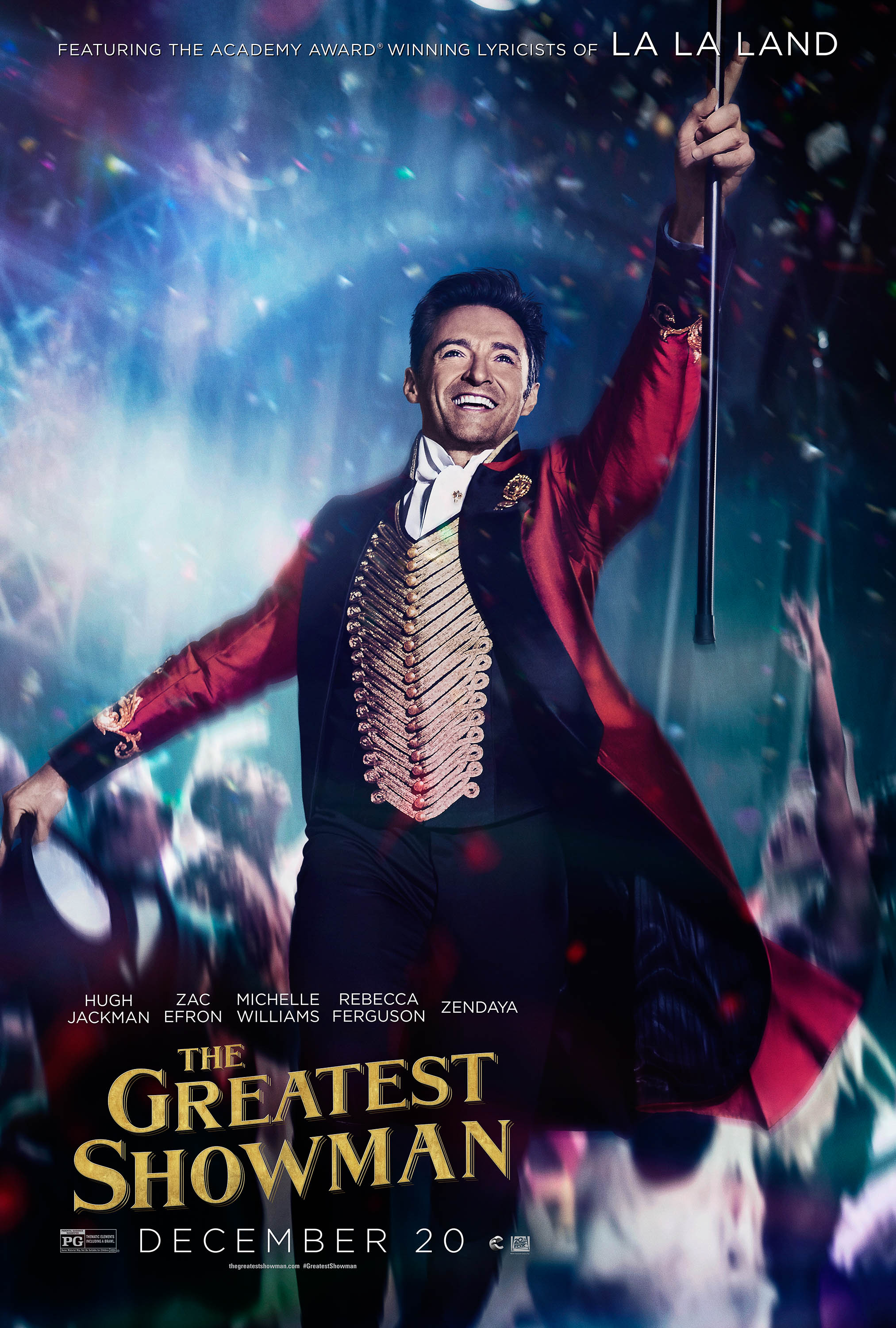 The Greatest Showman Natale al Cinema