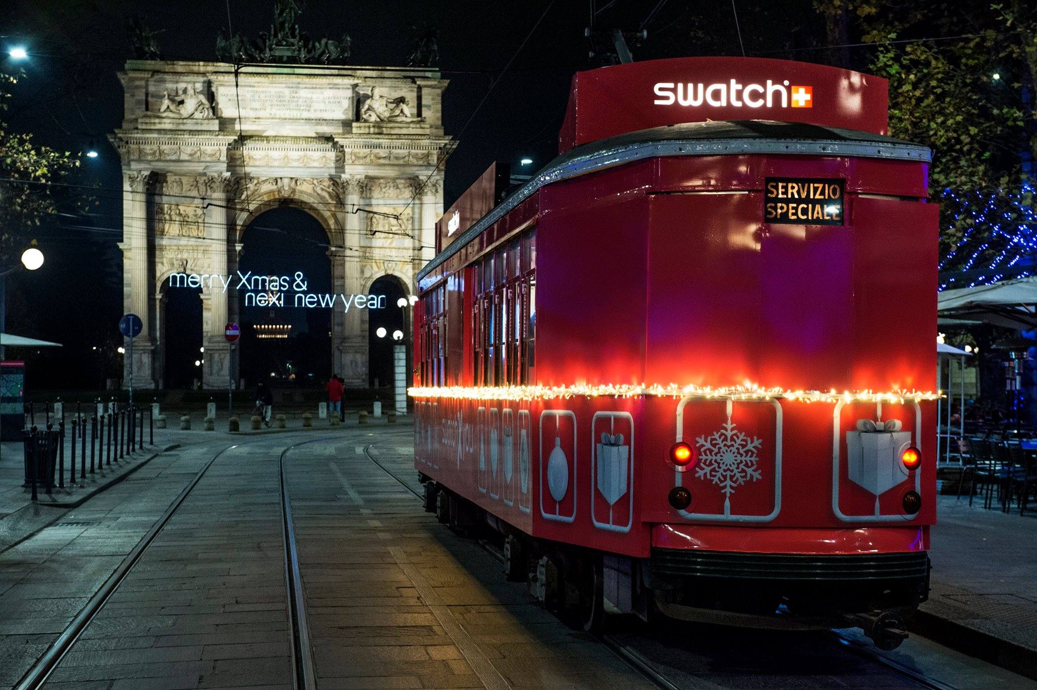 Tram Swatch Milano