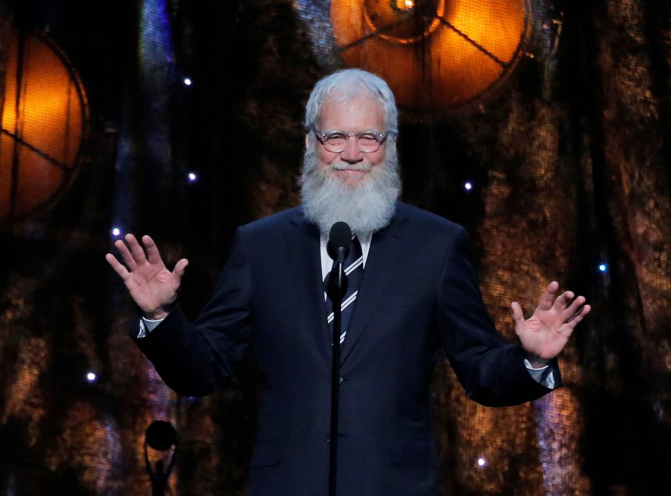 David Letterman Netflix.