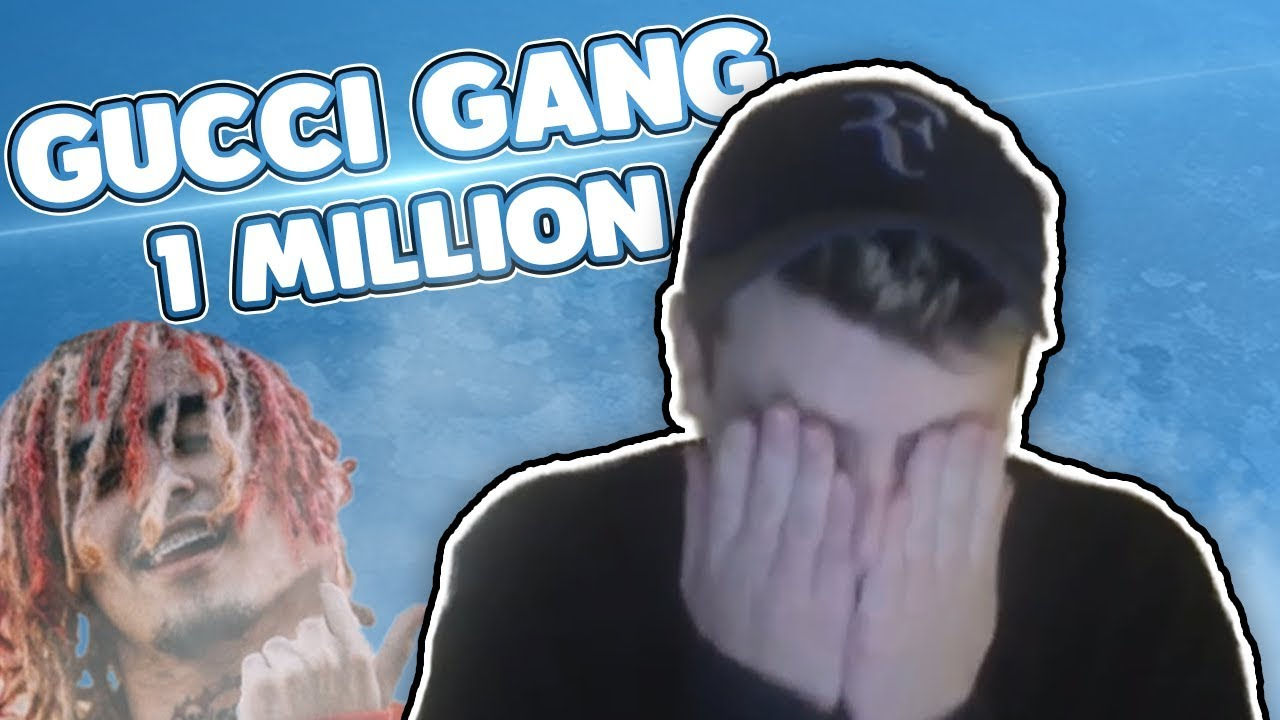 Gucci Gang 1 milione di volte per beneficenza