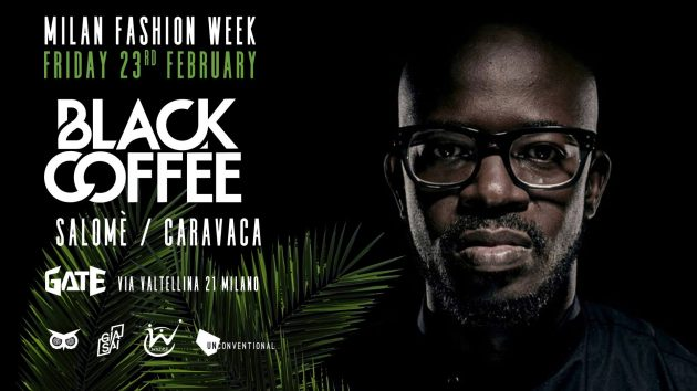 Black Coffee Milan Fashion Week | YOUparti