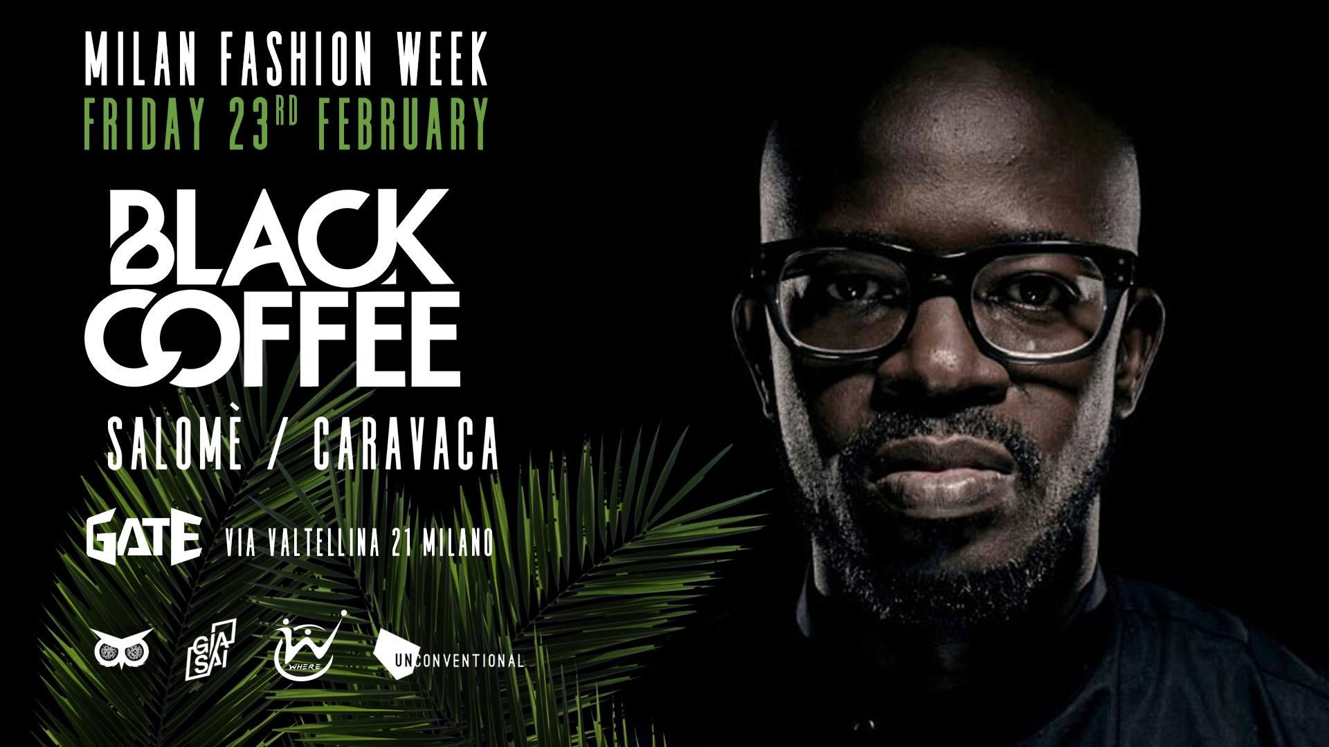 Black Coffee Milan Fashion Week   YOUparti