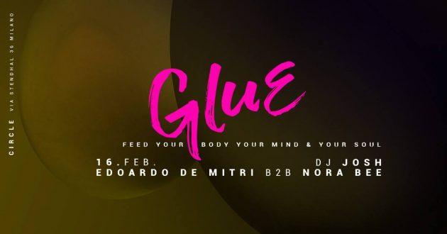 GLUE | Nora Bee B2B Edoardo De Mitri + Josh