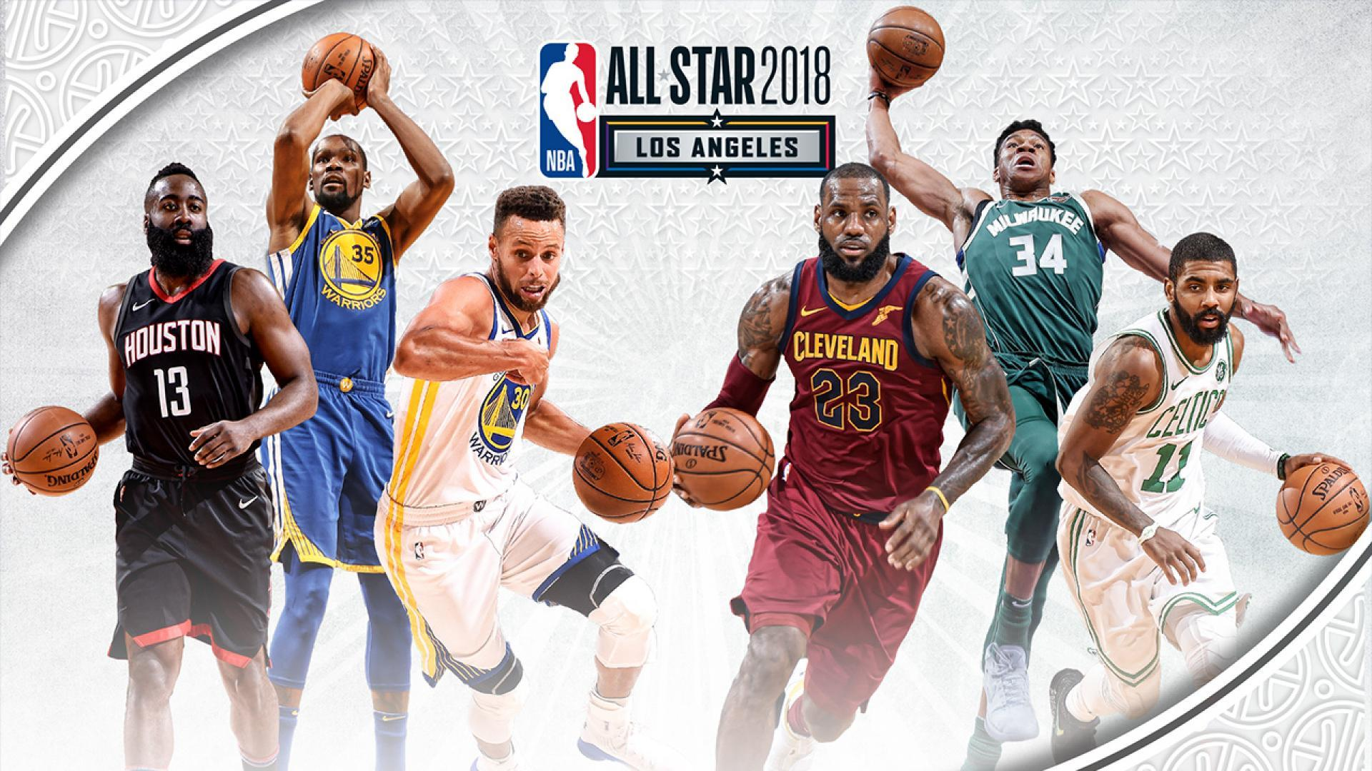 All Star Game 2018 LeBron vs Curry