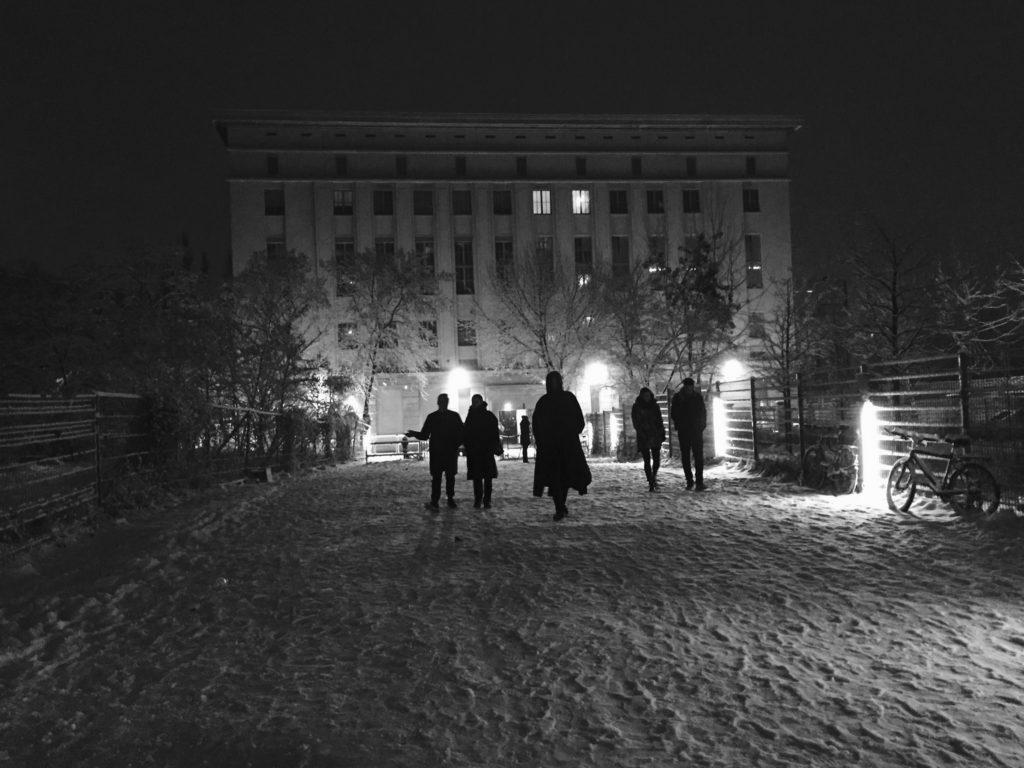 Kylie Minogue al Berghain di Berlino