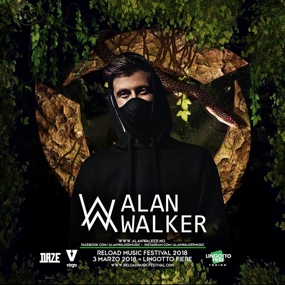Reload Music Festival 2018 Alan Walker