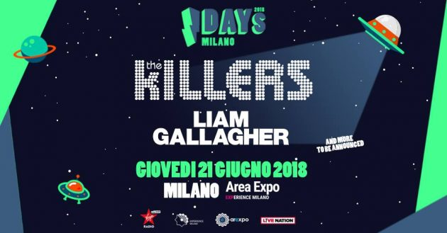The Killers + Liam Gallagher a Milano | YOUparti
