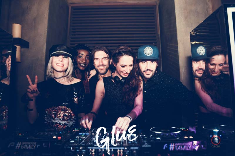 BELVEDERE OFFICIAL PARTY DESIGN WEEK | YOUparti GLUE CIRCLE