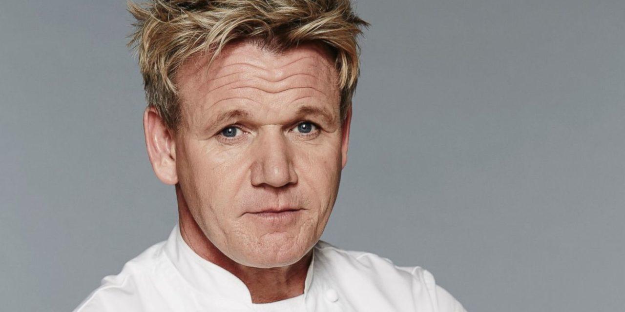 Gordon Ramsay diventa vegano