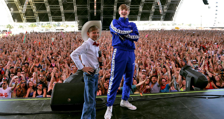 Mason Ramsey canta al Coachella