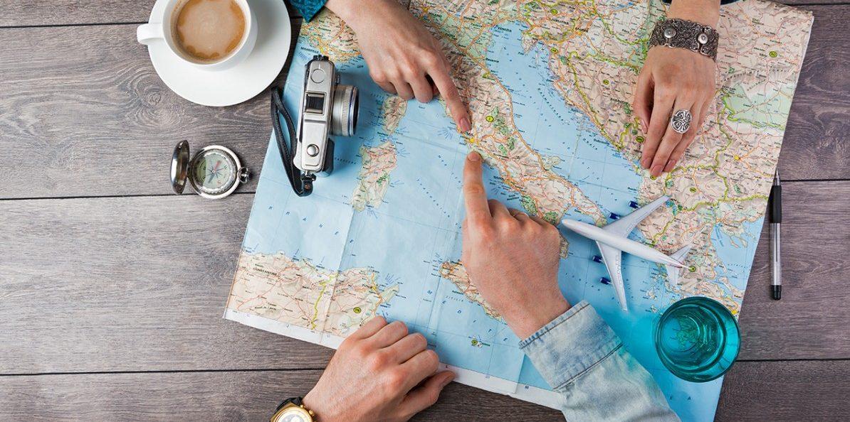 Viaggia gratis per il mondo con un amico