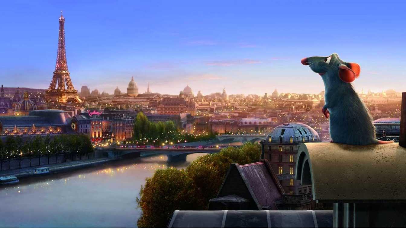 Parigi ratti ratatouille