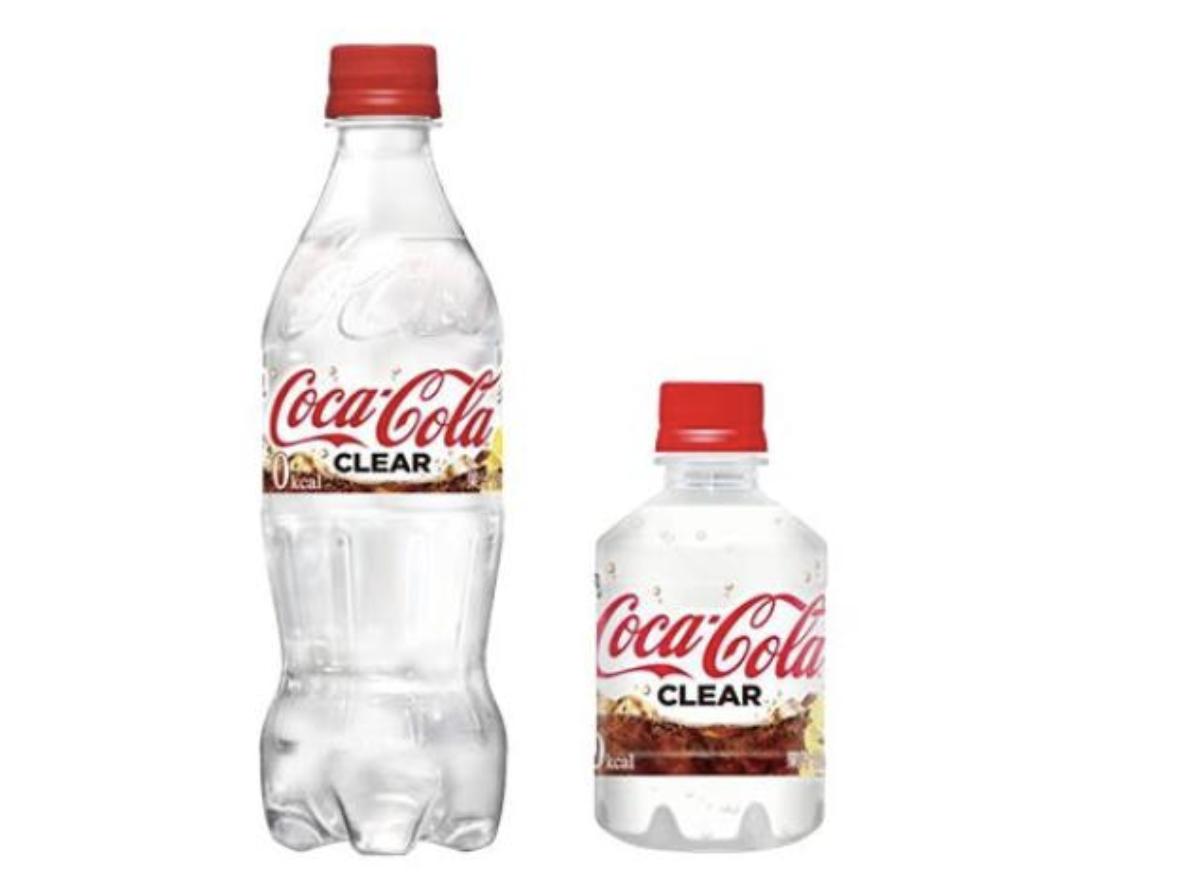 Coca Cola trasparente