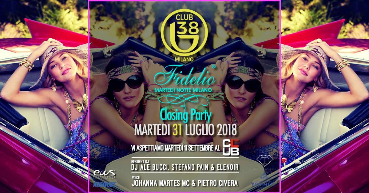 Fidelio Milano closing party