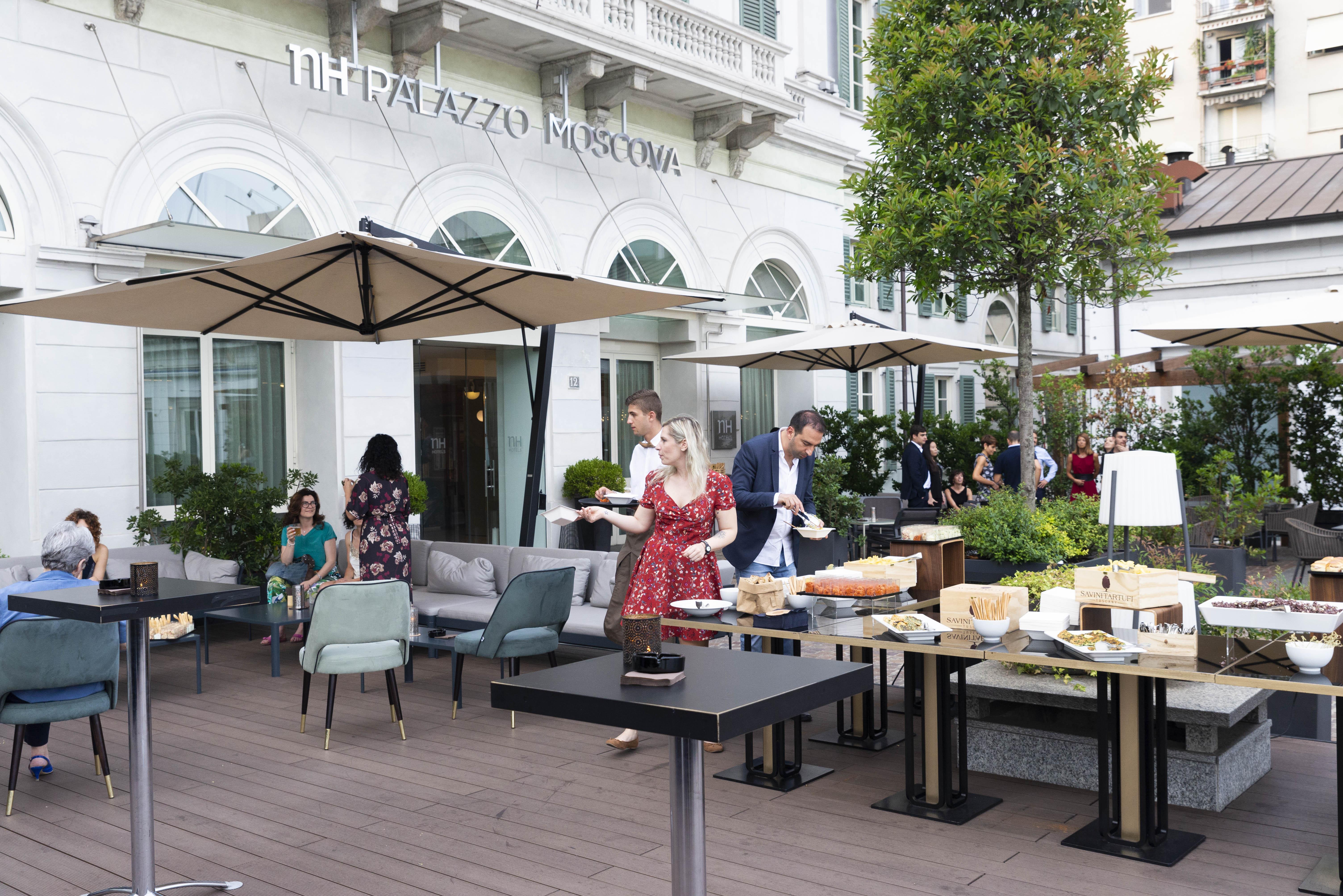 Thursday Terrace Moscova | YOUparti cocktail e degustazione savini tartufi