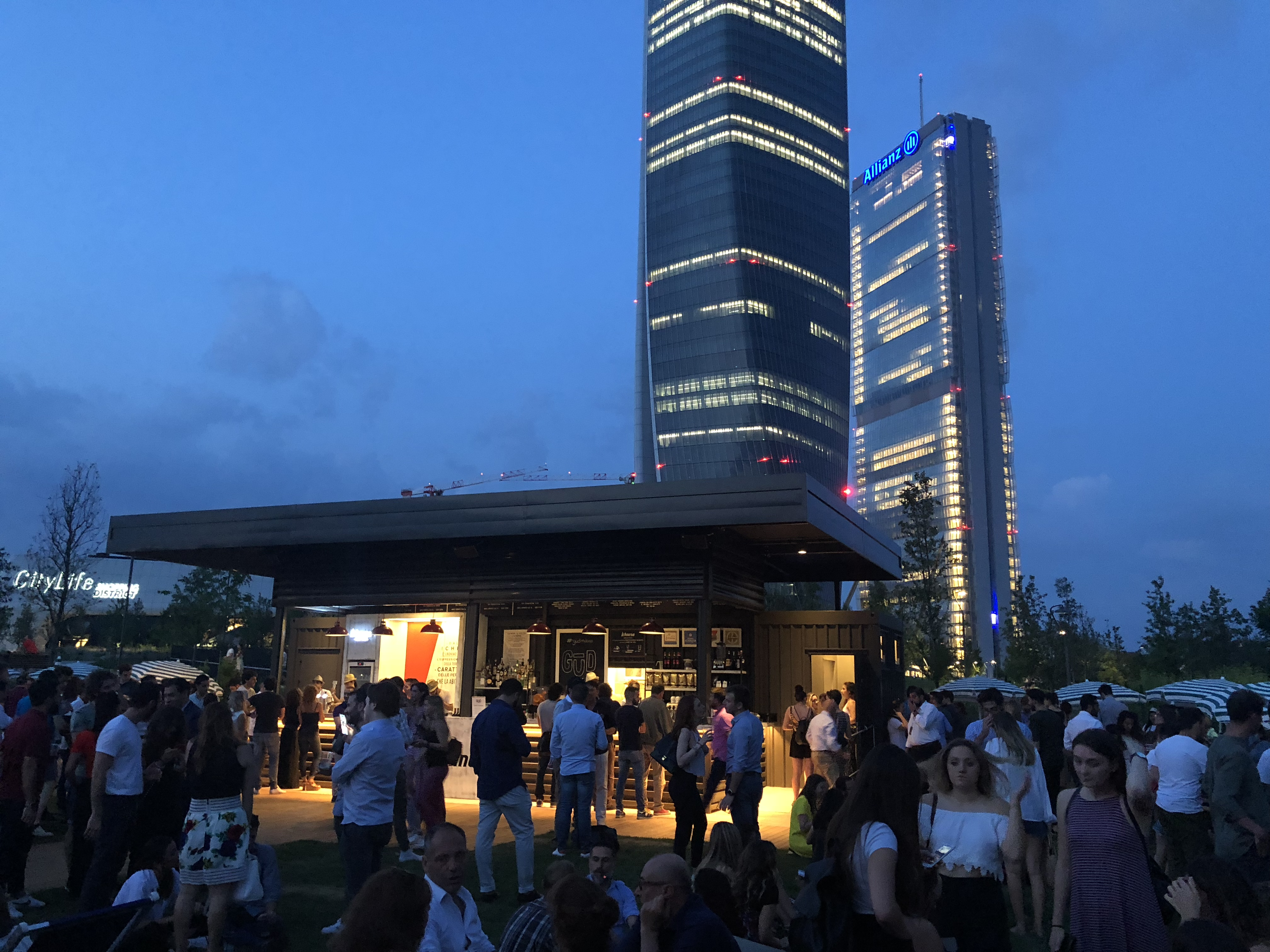 CityLife Urban Garden | YOUparti gud milano parco evento party