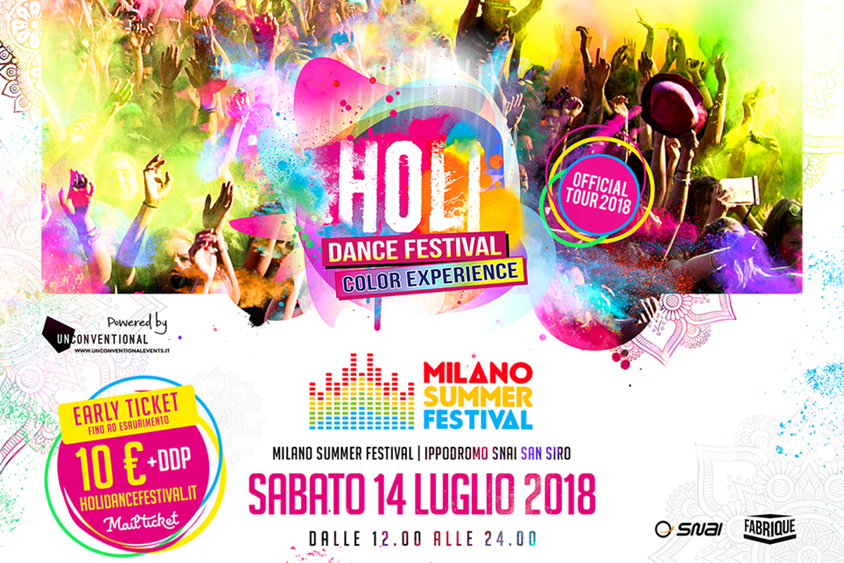Holi Dance Festival Milano