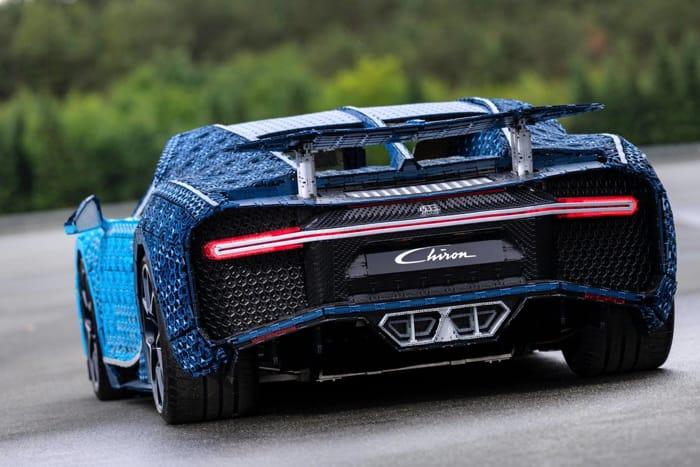 Bugatti Lego a Milano