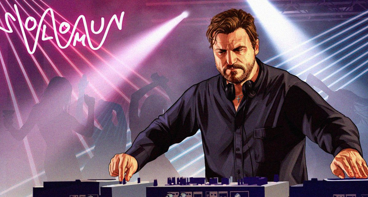 Solomun GTA music video