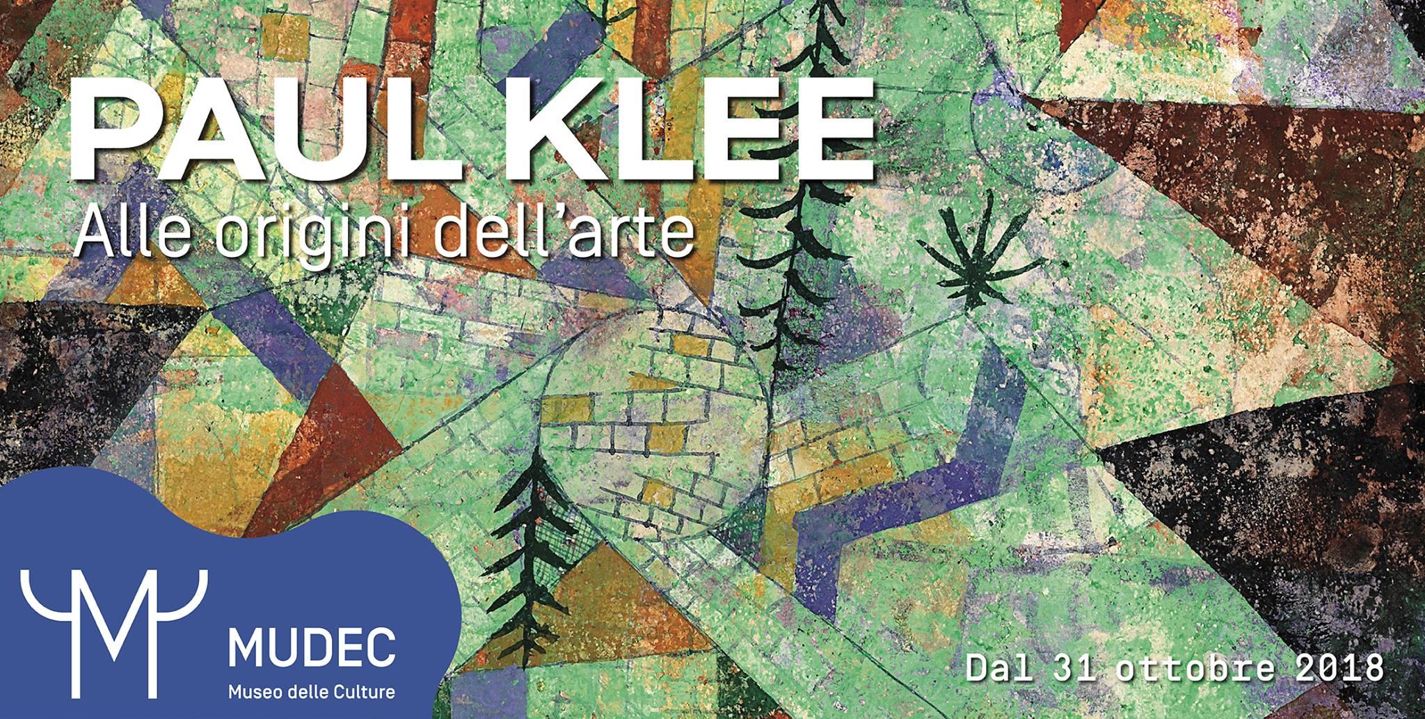 Paul Klee. Alle origini dell'arte   YOUparti mudec museo culture