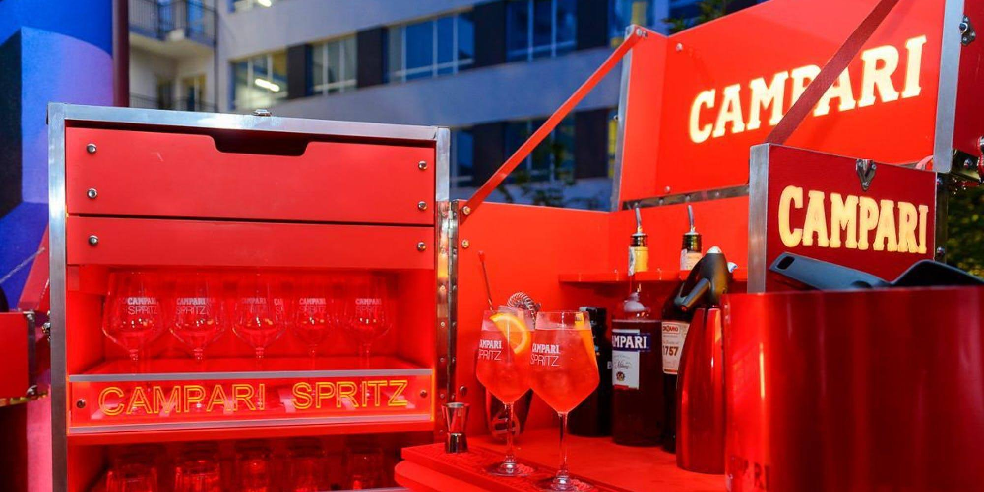 Official Party Campari | YOUparti nyx hotel milano