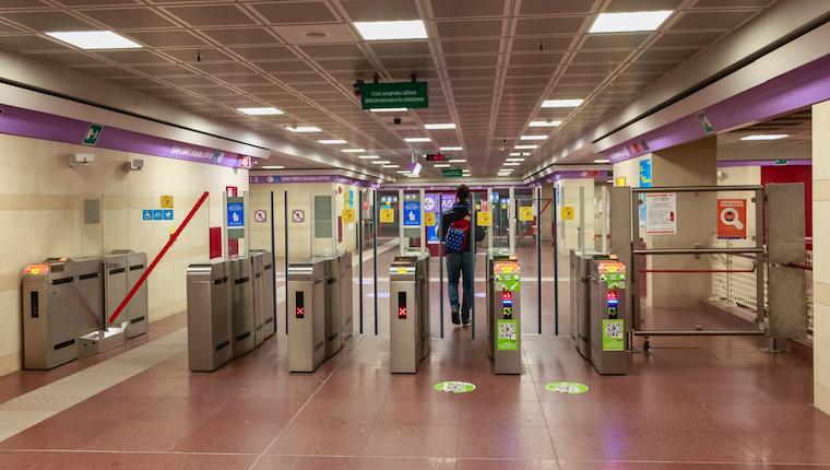 Nuovi accessi 2 metropolitana