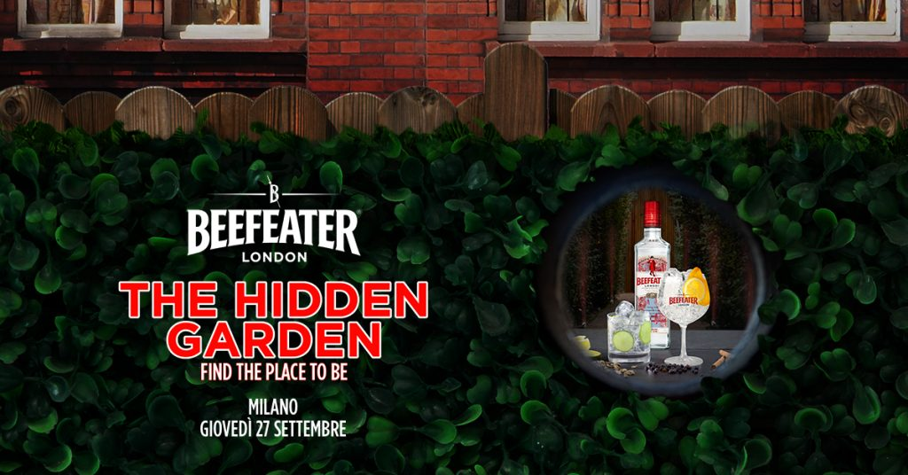 The Hidden Garden by Beefeater | YOUparti milano gin