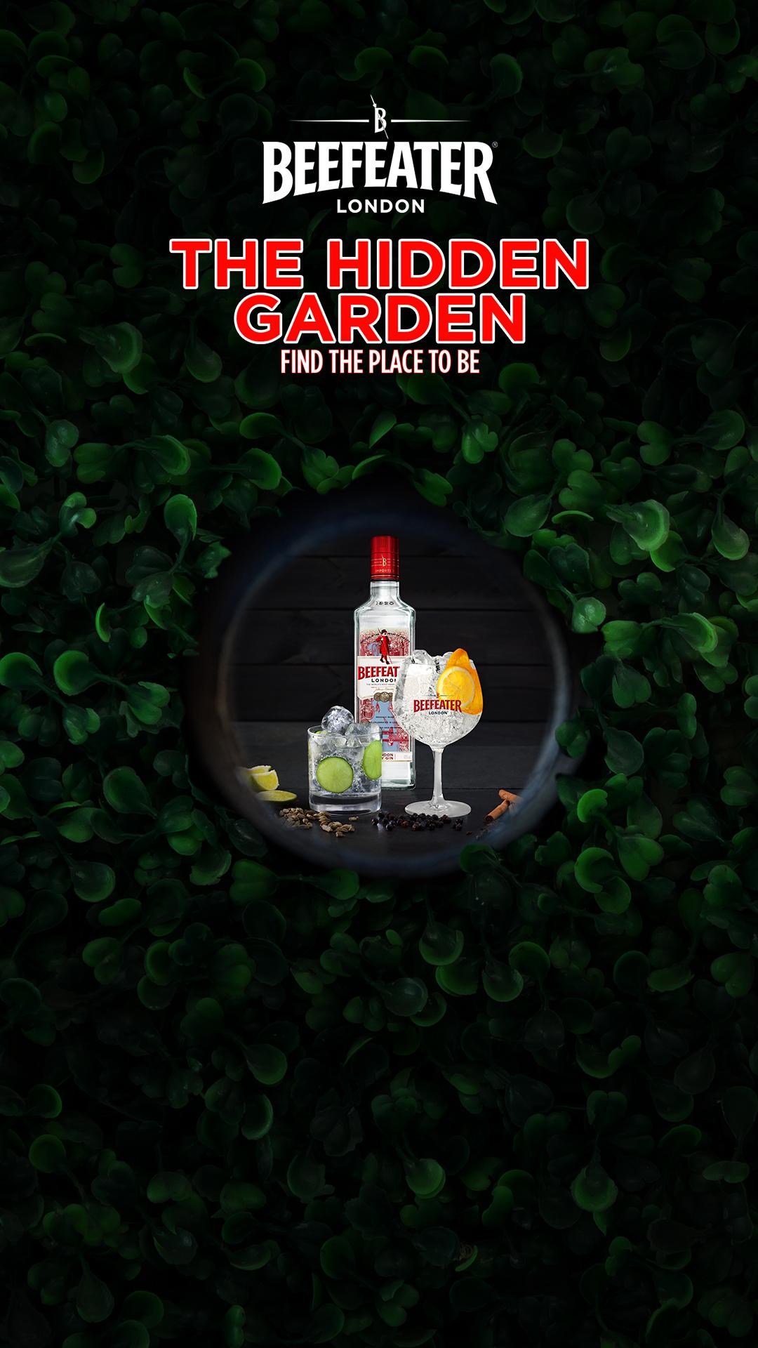 The Hidden Garden by Beefeater | YOUparti milano gin