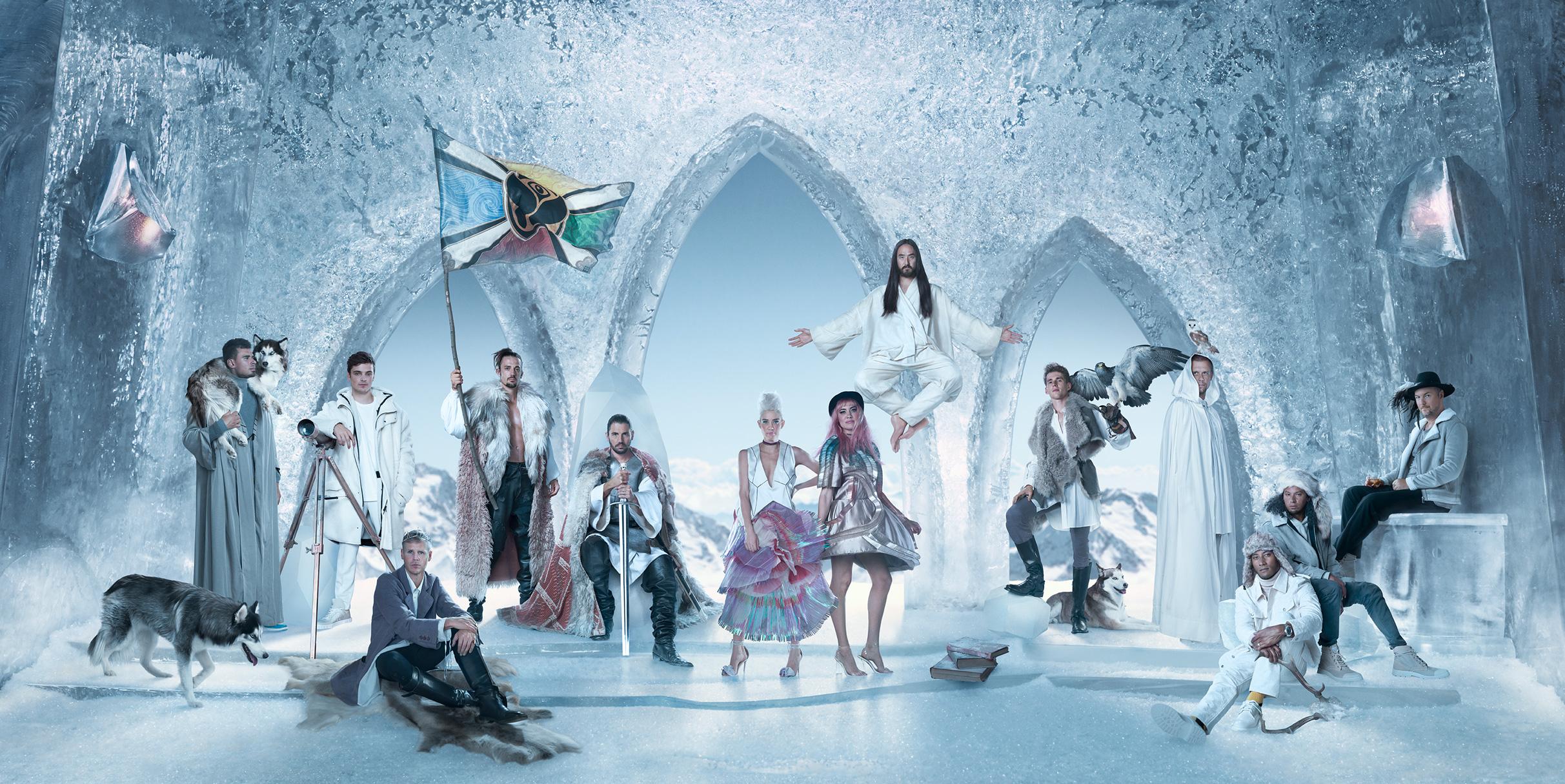 Tomorrowland Winter annunciata edizione invernale in Francia