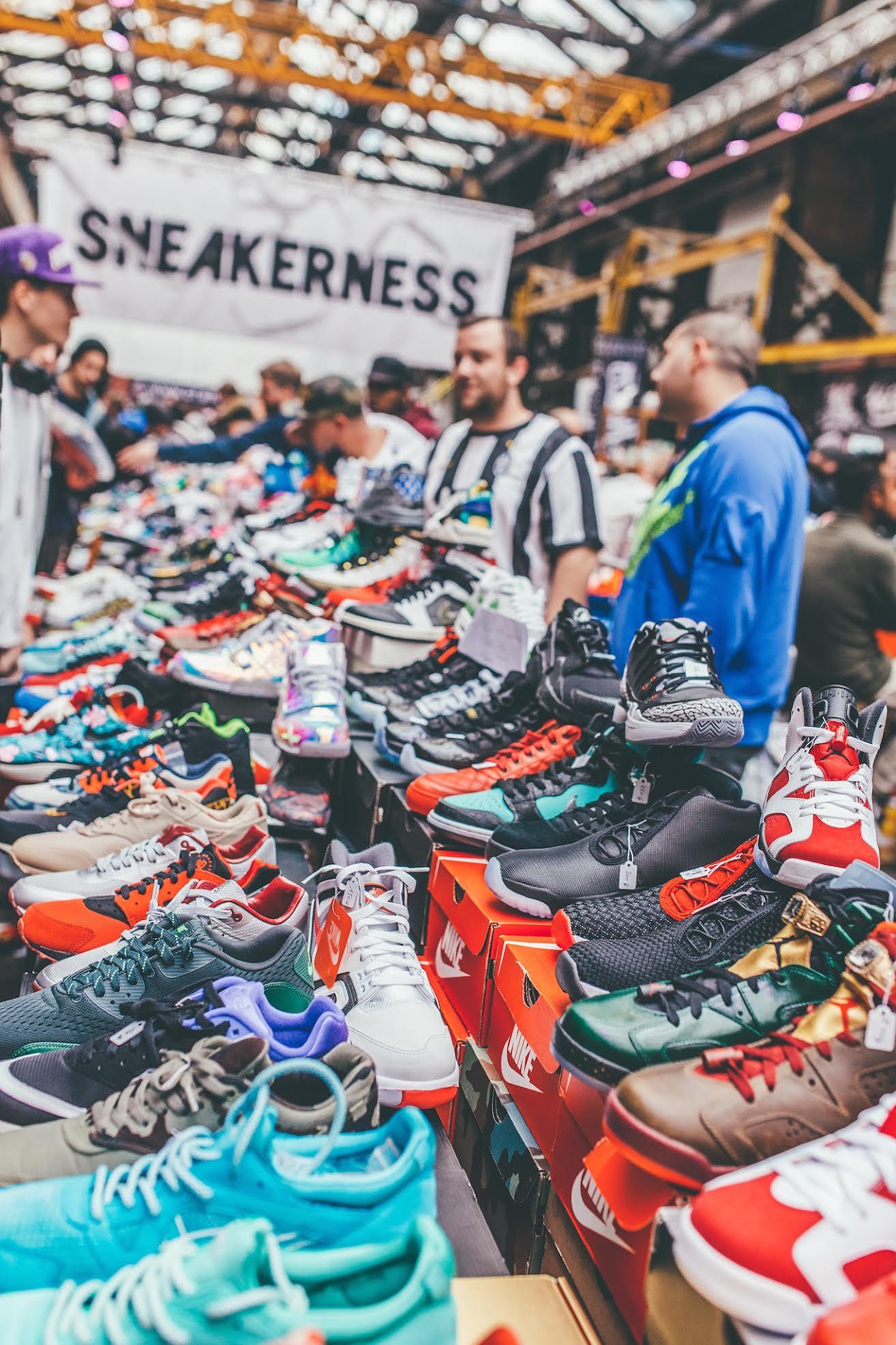 Sneakerness Milan 2018 PARTY EVENTO milano scarpe fiera evento