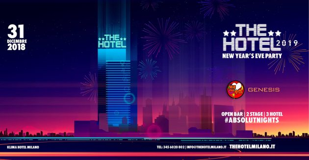 The HOTEL 2019 / Official Event | YOUparti Klima Hotel Open Bar Milano capodanno