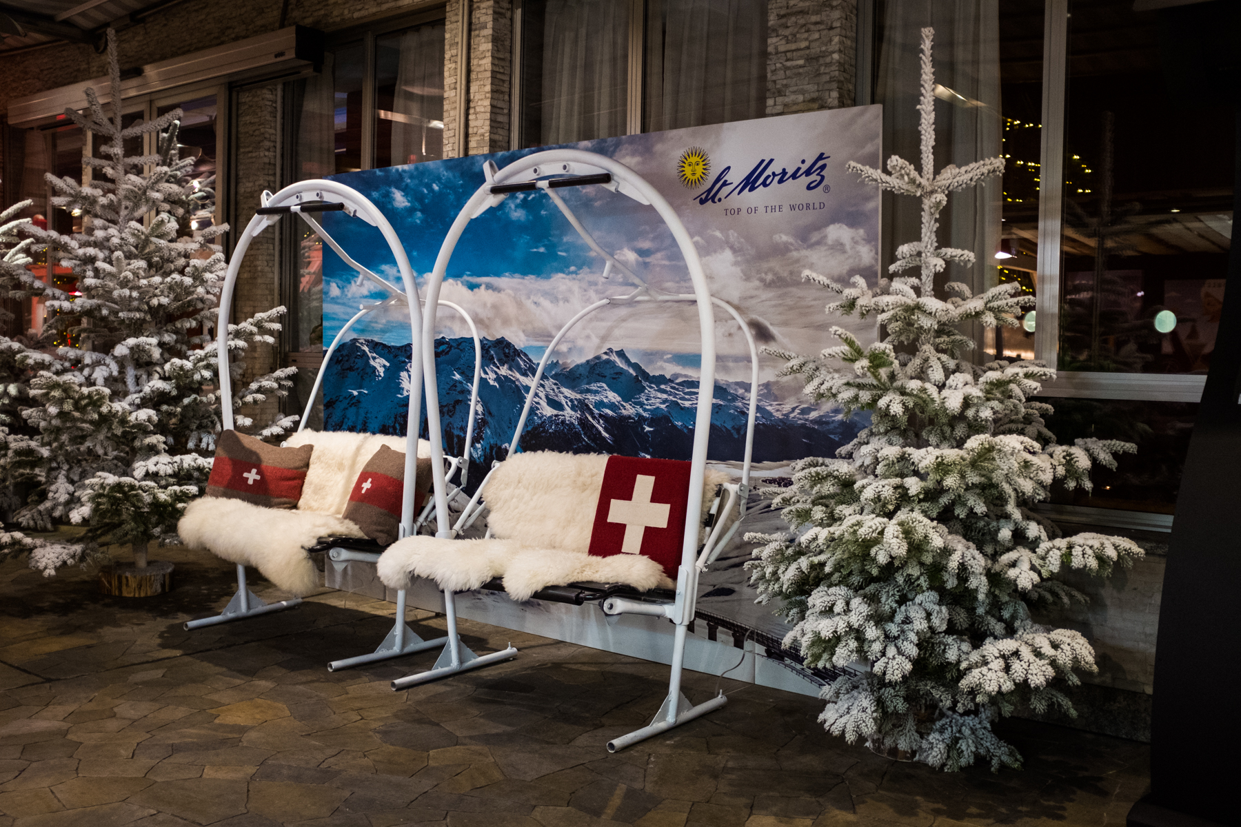 SWISS APERO at Swisse Winter Lounge | YOUparti la terrazza di via palestro milano