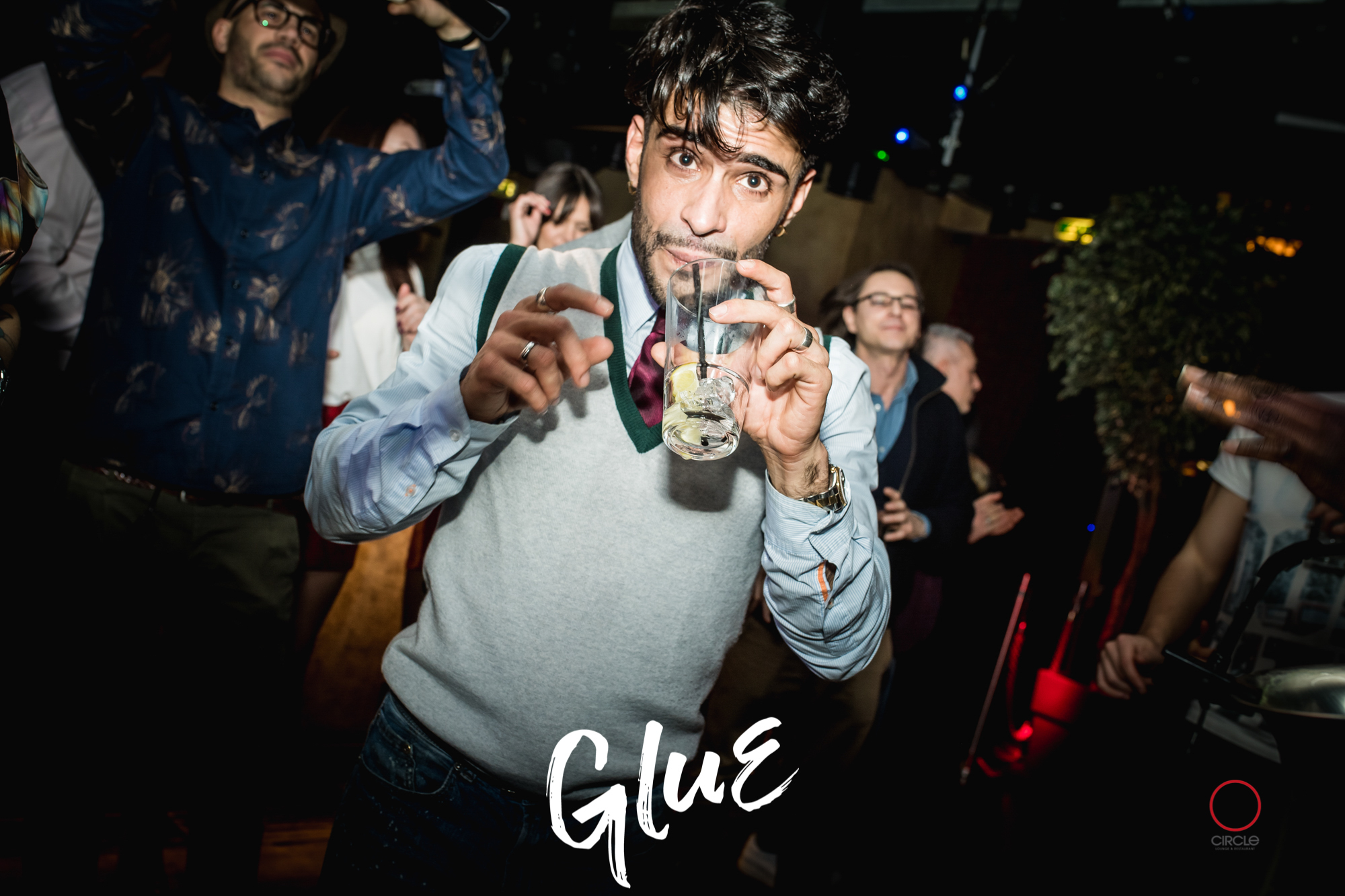 GLUE present AFTER JESUS Reunion | YOUparti circle milano friday free venerdì house music