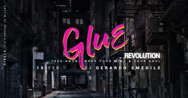 GLUE / Revolution | YOUparti circle club house music free friday venerdì