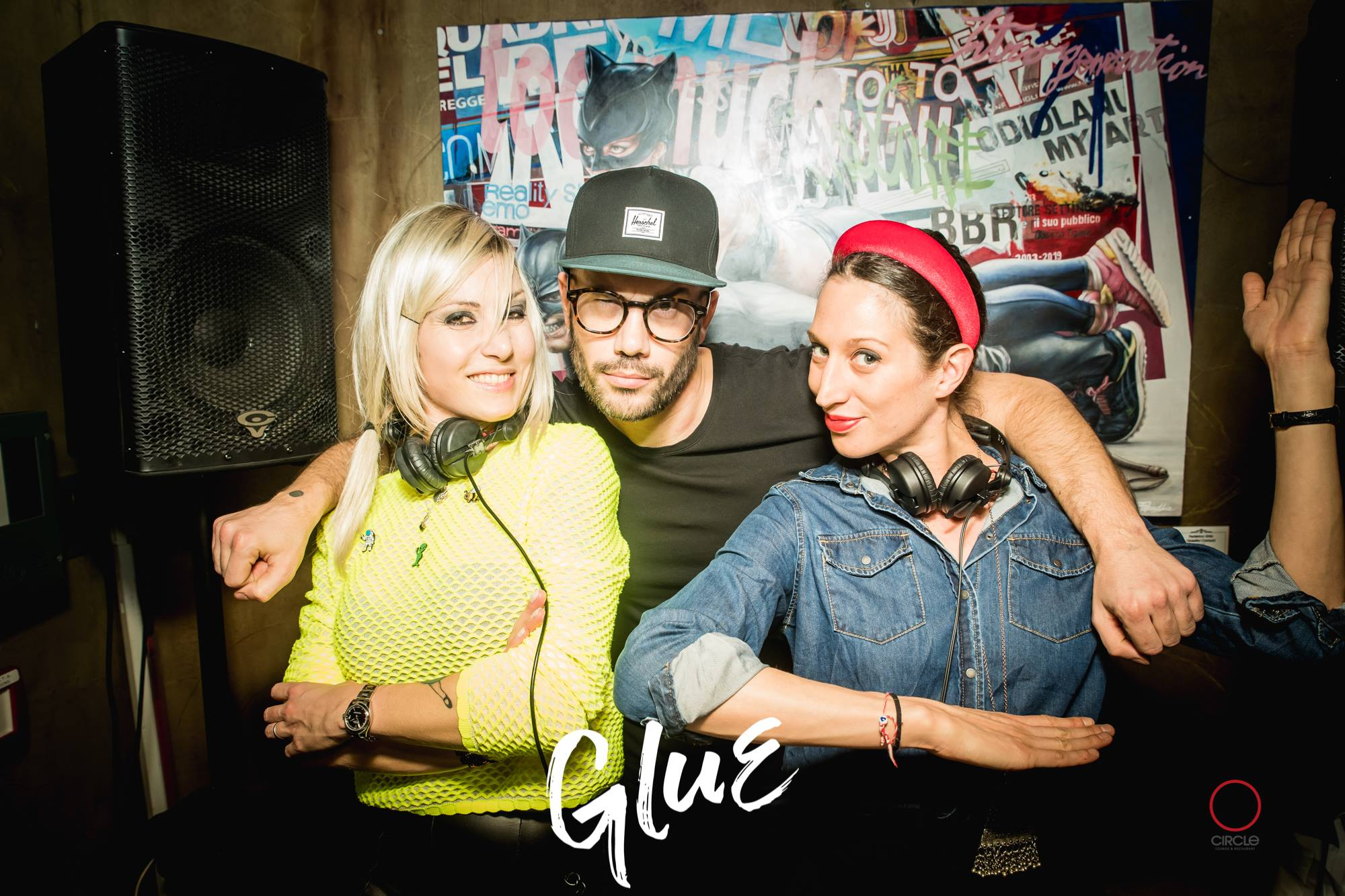 GLUE presenta After Jesus Reunion | YOUparti circle milano free gratis friday venerdì house music