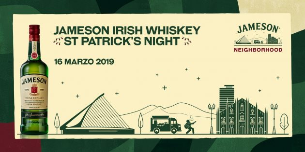 JAMESON IRISH WHISKEY ST. PATRICK'S NIGHT superstudio free tortona milano